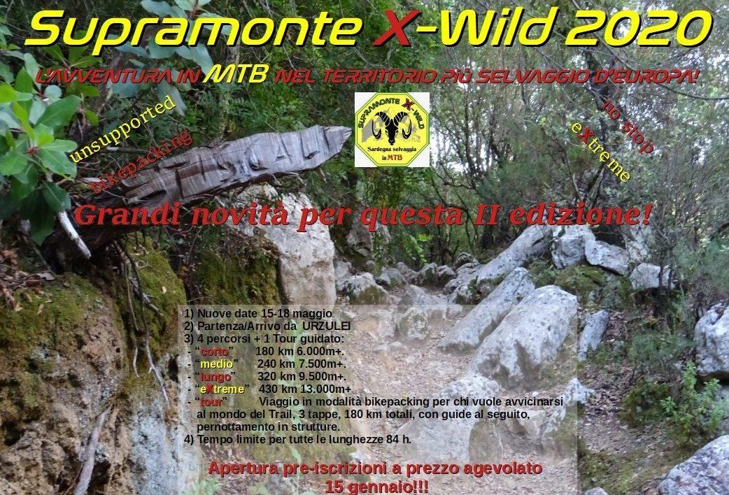 SUPRAMONTE X-WILD 2020